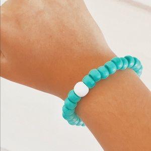 aqua bracelet (with charm)